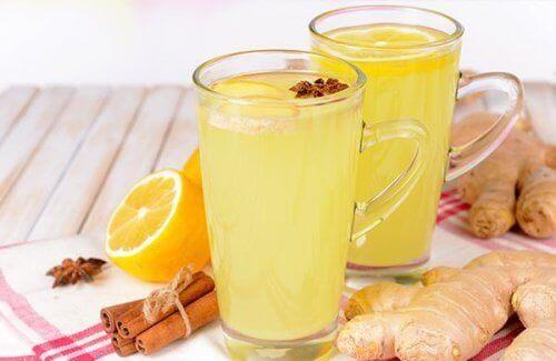 портокал и джинджифил за прочистване на черния дроб