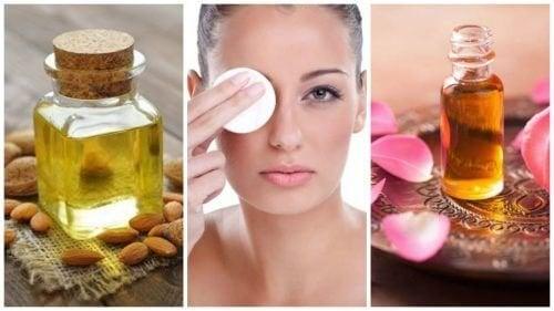 6 натурални масла за премахване на грима