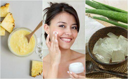 Стегнете кожата на лицето с тези 5 натурални средства