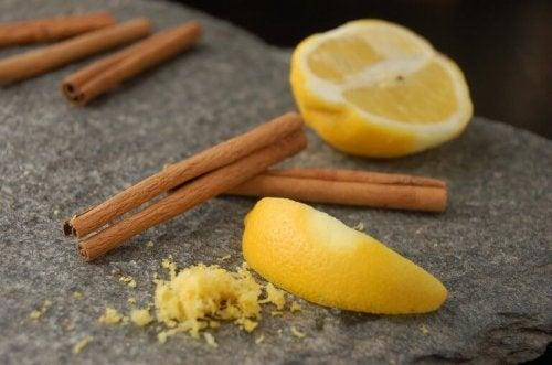 Намалете болките в ставите с канела и лимон