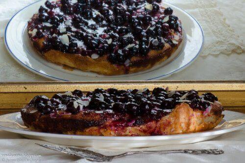 Десерт с боровинки