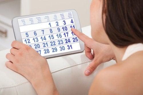 преждевременната менопауза - нередовен менструален цикъл