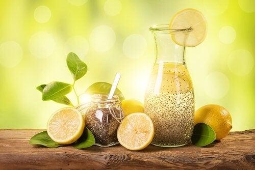 Бързо отслабване с лимон, джинджифил и семена от чиа