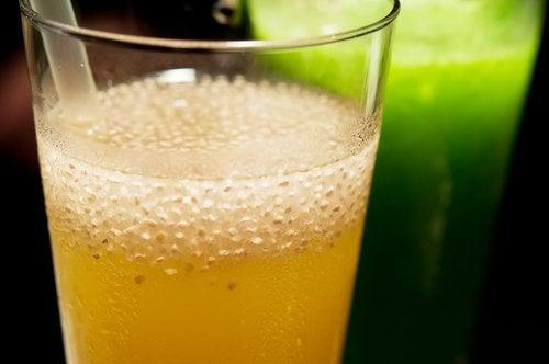 Лимон, джинджифил и чиа