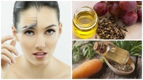 Почистете кожата на лицето си с масла