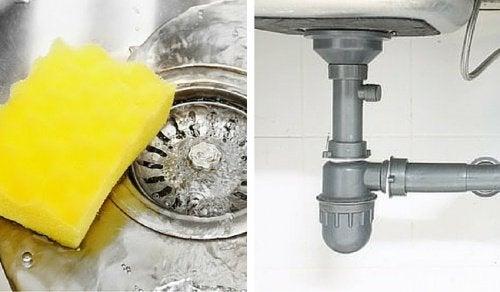 приложения на оцета - отпушване на канализация