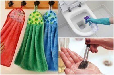 9 неща в дома ви, които трябва да почиствате ежедневно