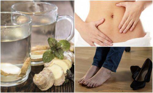 7 ползи от пиенето на джинджифилова вода на празен стомах