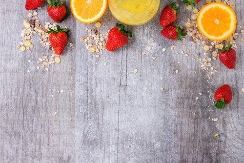 портокали и и ягоди против алопеция