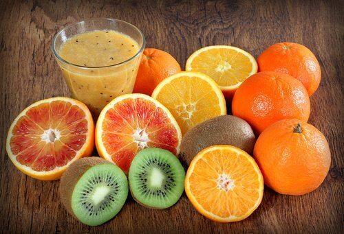 плодове с витамин С срещу херпеси