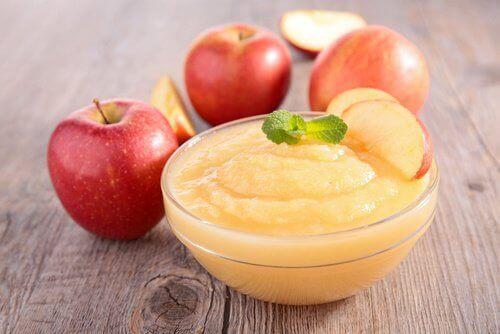 ябълково пюре