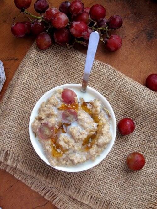закуската и вечерята - точното количество храна