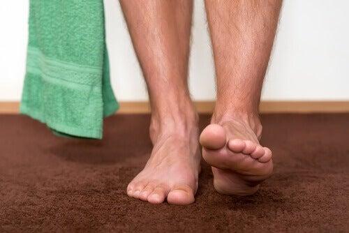 подсушаването след баня е важно за предпазване от трихофития
