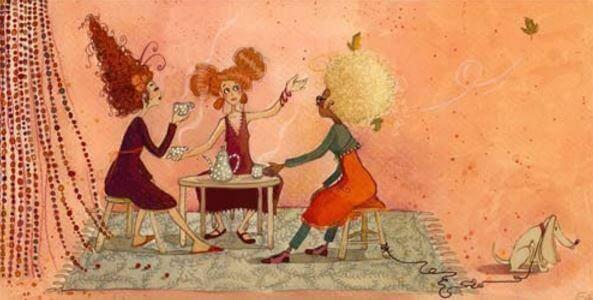срещите с приятели и емоционалните връзки, които имаме, топлят през годините.
