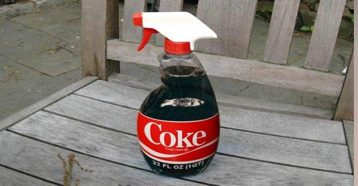 използвайте Кока-кола като пестицид в градината