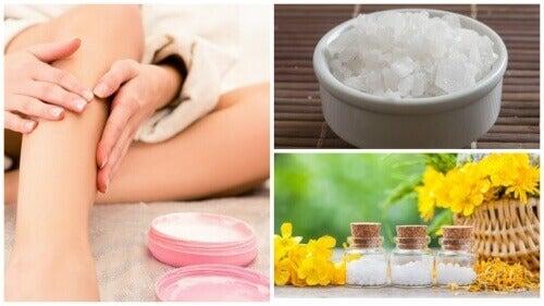 Направете си магнезиево олио за облекчаване на болката в краката