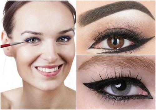 6 различни завидни идеи за очна линия