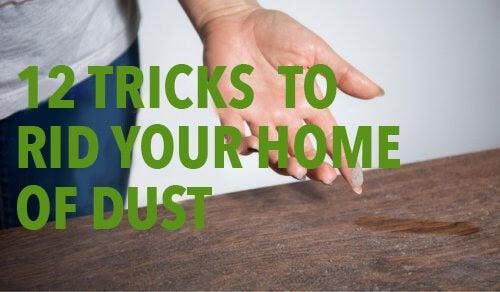 12 трика да се отървете от домашния прах
