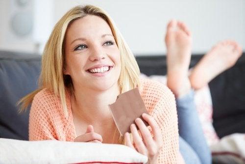 шоколадът съдържа магнезий