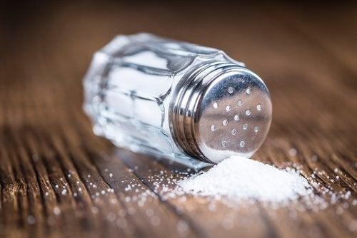 Избягвайте богатите на натрий храни