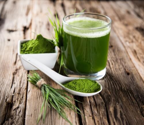 рецепта за зелена вода