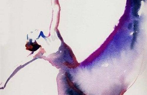 танцуваща жена
