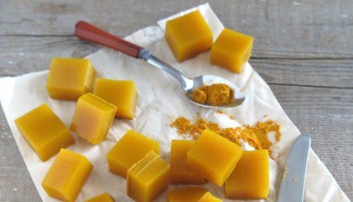 Желирани бонбони от мед и куркума: страхотно противовъзпалително средство!