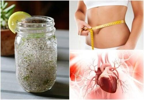 Как реагира тялото на семена от чиа и лимонов сок