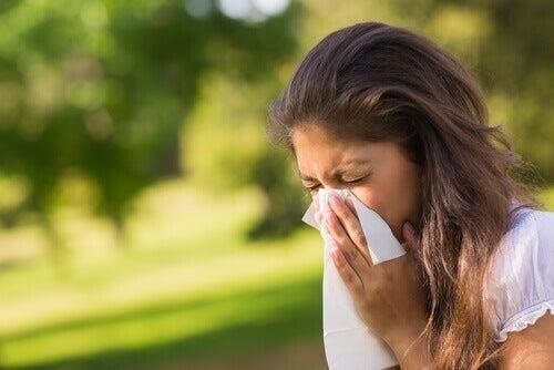 Алергиите може да показват, че черният дроб е претоварен.