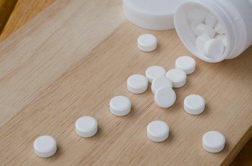 аспирина и петната от пот
