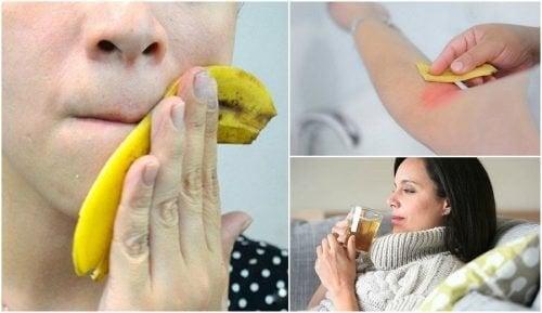 8 изненадващи приложения на банановите кори