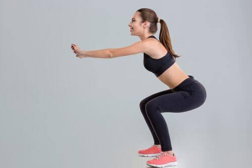 Упражнения преди лягане за по-плосък корем.