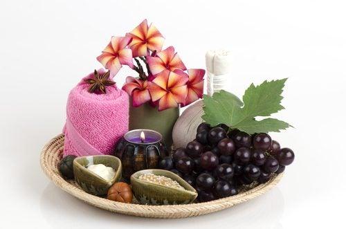 домашни маски с грозде