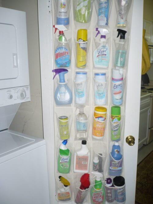 организирането на къщата - подреждане на препаратите