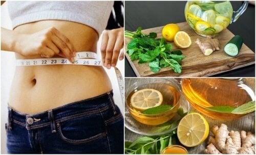Забравете за подутия стомах и отслабнете с джинджифил и лимон