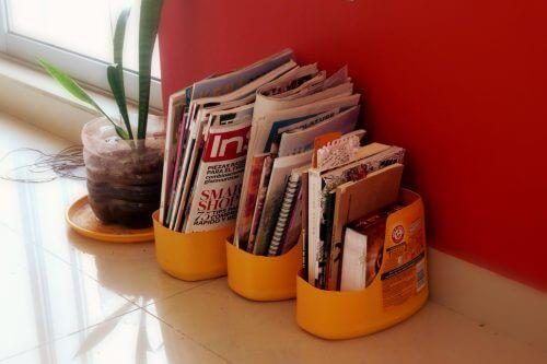 поставка за списания от пластмасовите бутилки