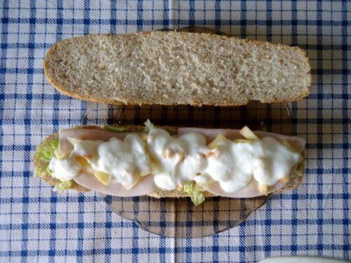 сандвич с пуйка за борба с мазнините