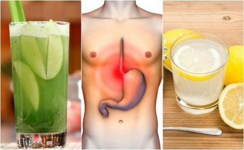 5-те най-добри домашни средства против стомашни киселини