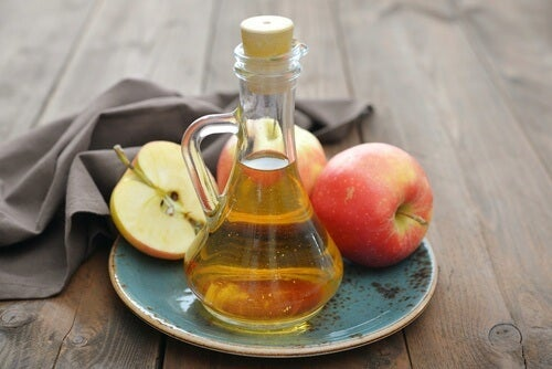 средство с ябълков оцет и сода за хляб против гъбички