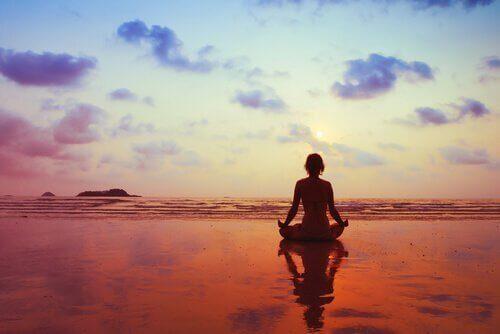 мотивация и медитация, за облекчение на безпокойството
