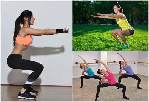 6 вида клякания, които да правите у дома за стегнати крака