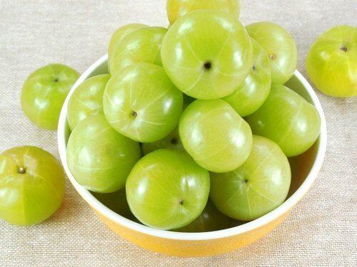вместо омепразол, яжте индийският плод амла