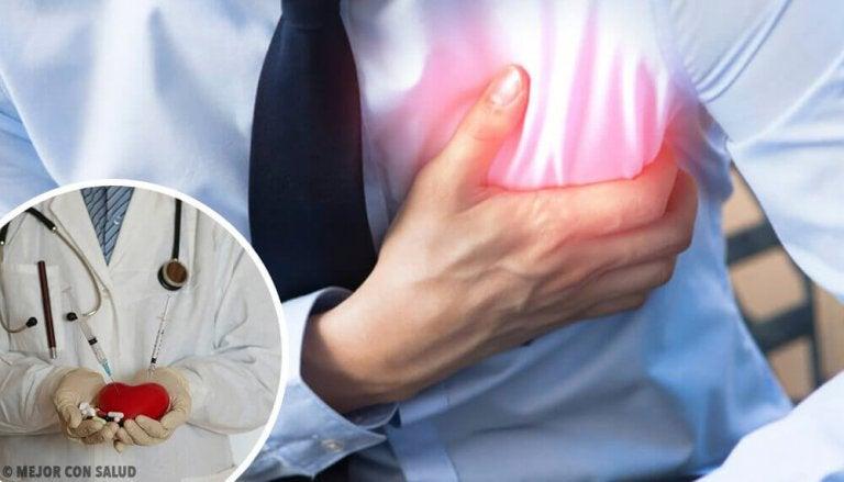 Защо се появява болката в гърдите?