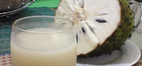 плодът гравиола може да бъде по-здравословен източник на енергия