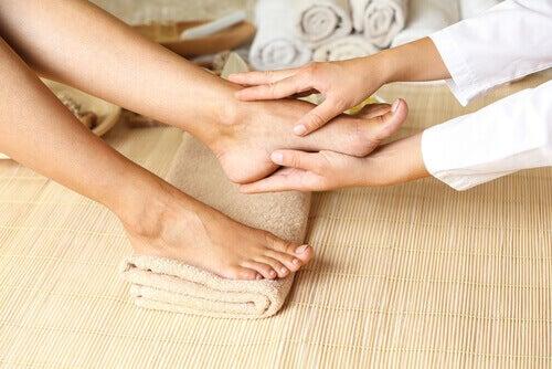 лошото кръвообръщение на краката се лекува с масажи