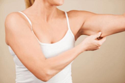 за да имате тънки ръце е нужно да намалявате мастната тъкан малко по малко
