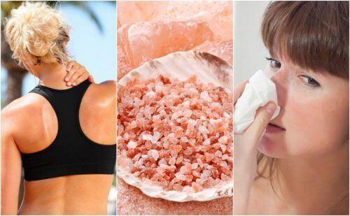 10 ползи от розовата хималайска сол