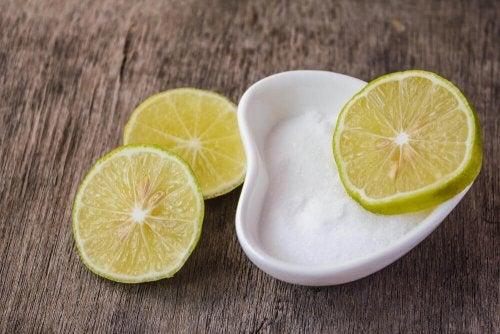 Сол и лимон при гингивит