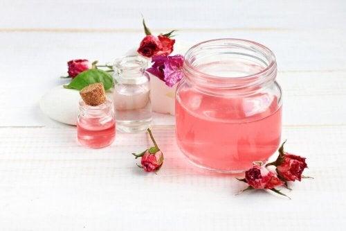 тоник с алое вера и розова вода