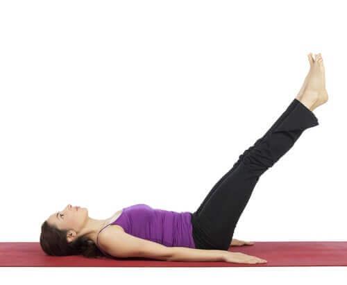 упражнение за справяне с разширените вени